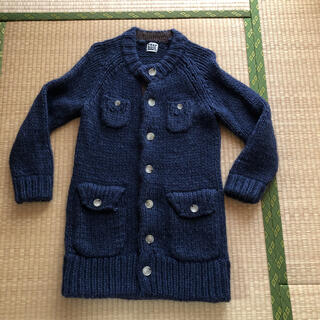 フラボア(FRAPBOIS)のフラボアハーフ FRAPBOIS half 可愛暖かニットコート セーター(ロングコート)