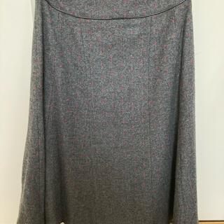 アクアガール(aquagirl)のアクアガール 膝下フレアスカート(ひざ丈スカート)