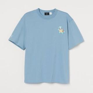 H&M ポケットモンスター ゼニガメ 半袖Tシャツ Mサイズ