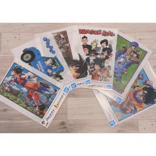 バンダイ(BANDAI)のドラゴンボール EX 地球を守る戦士たち I賞 ビジュアルボード (全6種)(ポスター)