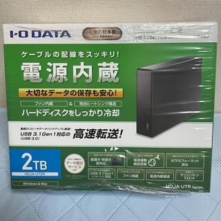 IODATA - IODATA HDD 2TB HDJA-UT2R 新品