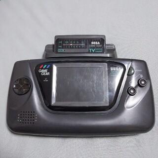 セガ(SEGA)のゲームギア 本体+アナログチューナー(携帯用ゲーム機本体)