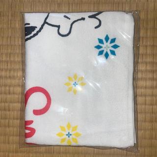 SNOOPY - スヌーピー ハグ柄タオル