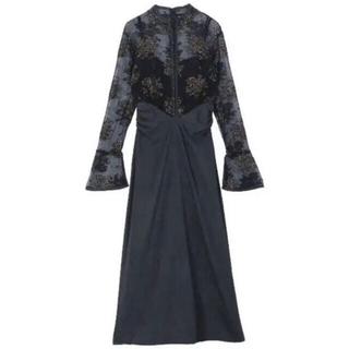 Ameri VINTAGE - Ameri Vintage Flower lace dress