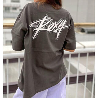 Roxy - ロキシー Tシャツ チャコールグレーM