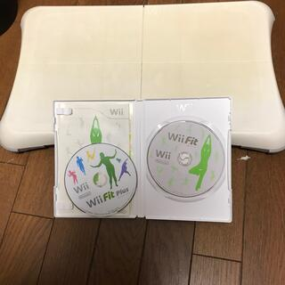 Wii - wii fit plus バランスボード付き