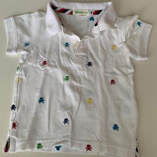 ビームス(BEAMS)のBEAMS miniスカル刺繍が可愛いポロシャツ 90(Tシャツ/カットソー)