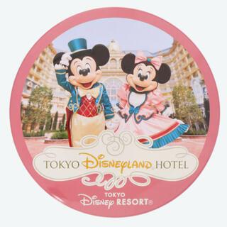 Disney - ランドホテル 実写 缶バッジ ミッキー ミニー ディズニー