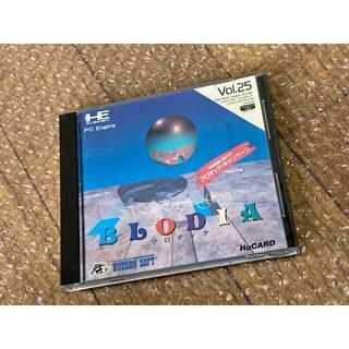 エヌイーシー(NEC)のPCエンジン BLODIA(家庭用ゲームソフト)