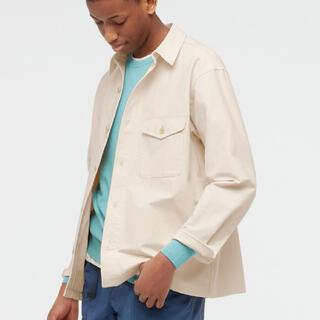 ユニクロ(UNIQLO)のUNIQLO オーバーシャツジャケット XLサイズ(その他)