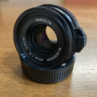 KONICA MINOLTA - MINOLTA M-ROKKOR 40mm F2 CLE用