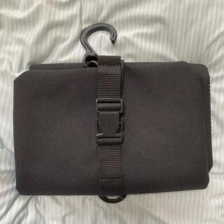 MUJI (無印良品) - ⭐︎未使用⭐︎吊るせるケース小物ポケット ブラック ポーチ 旅行用品