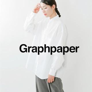 graphpaper  バンドカラーシャツ
