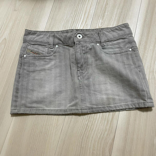 ディーゼル(DIESEL)の正規 デニムミニスカート 海外限定 ダメージスカート(ミニスカート)