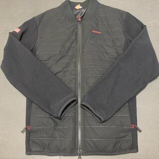 ブリーフィング(BRIEFING)のブリーフィング ゴルフ MA-1 ジャケット ブラック(ウエア)