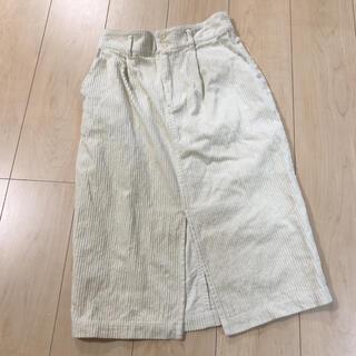 ダブルクローゼット(w closet)のダブルクローゼット 膝下スカート コーデュロイ(ひざ丈スカート)