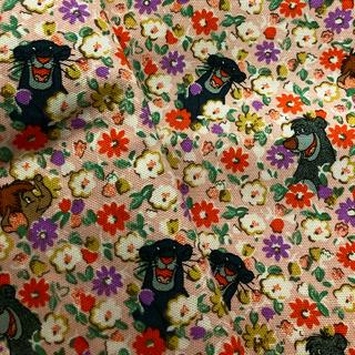 キャスキッドソン(Cath Kidston)のキャスキッドソン 生地 布 ジャングルブック コットンダック 帆布(生地/糸)