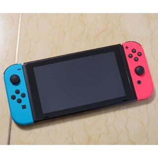 任天堂 - 【美品】Nintendo Switch ネオン + おまけ付き