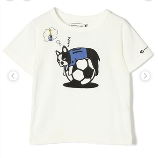 GLOBAL WORK - 【美品】GLOBAL WORK×soccer junkyコラボ キッズTシャツ