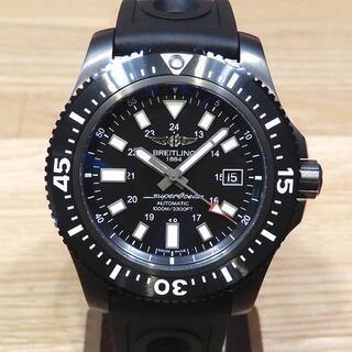 ブライトリング(BREITLING)の未使用 ブライトリング スーパーオーシャン ダイバーズウォッチ 黒(腕時計(アナログ))