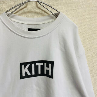 BEAMS - 一点物 キス(KITH) デカロゴ  ボックスロゴ ビッグサイズ スウェット