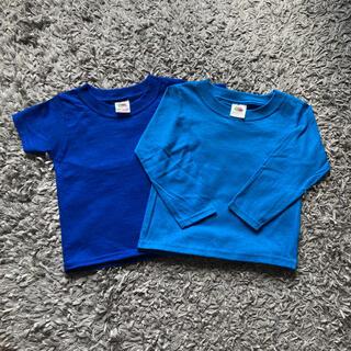 ビームス(BEAMS)の新品未使用 2枚セット フルーツオブザルーム Tシャツ ロンT キッズ 90(Tシャツ/カットソー)