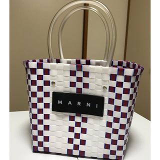 Marni - MARNI [マルニ]フラワーカフェ ピクニックバッグ♡カゴバッグ♡美品
