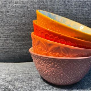 コストコ - Costco カラフルお茶碗暖色♡