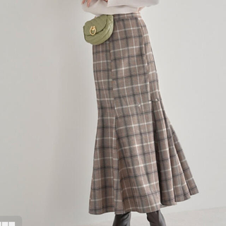 GRL - チェックマーメイドスカート グレイル