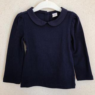 ベビーギャップ(babyGAP)のGAP 襟付きトップス ロンT ネイビー 95cm 2years(Tシャツ/カットソー)