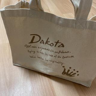 Dakota - Dakota ダコタ キャンバス 帆布 トートバッグ A4対応 ワンマイルバッグ