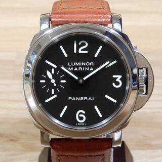 パネライ(PANERAI)の超美品 パネライ ルミノール マリーナ 手巻き 44mm メンズ 腕時計(腕時計(アナログ))