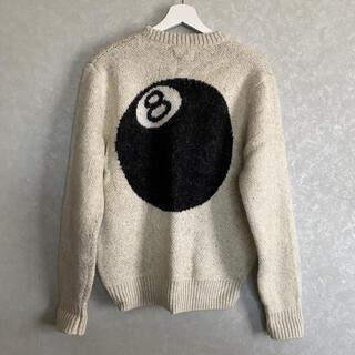 STUSSY - Stussy 8ball Sweater Sサイズ