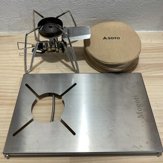 シンフジパートナー(新富士バーナー)のSOTO ST-310 点火アシスト テーブルセット(調理器具)