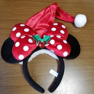 Disney - ディズニーカチューシャ クリスマス ミニー 2012