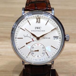 超美品 IWC 現行 ポートフィノ ハンドワインド 8デイズ 手巻き 腕時計