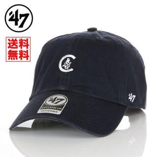 ニューエラー(NEW ERA)の【新品】47 キャップ シカゴ カブス 帽子 紺 レディース メンズ(キャップ)