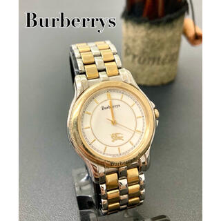 BURBERRY - 【希少】バーバリー レディース腕時計 アンティーク ヴィンテージ 美品