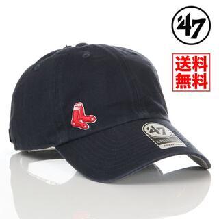 ニューエラー(NEW ERA)の【新品】47 キャップ レッドソックス 帽子 紺 レディース メンズ(キャップ)