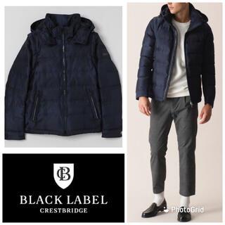 BLACK LABEL CRESTBRIDGE - 極上美品 4wayシャドークレストブリッジ チェックダウン ブラックレーベル L