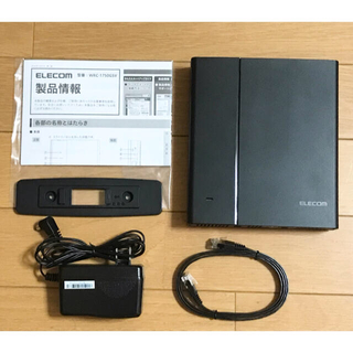 ELECOM - WRC-1750GSV ELECOM 無線LANギガビットルーター