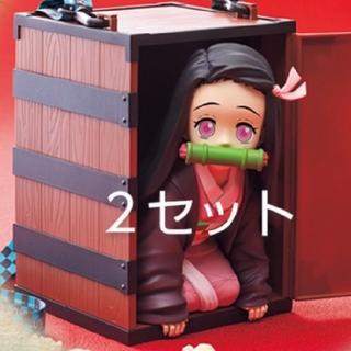 USJ - 2個 鬼滅の刃 竈門禰豆子 ポップコーンバケツ