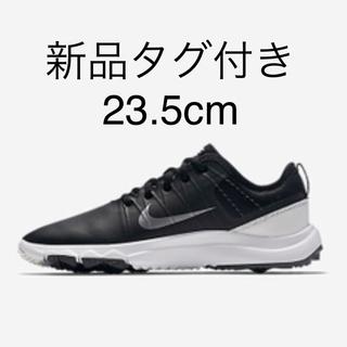 NIKE - 新品 タグ付き NIKE 23.5 ゴルフシューズ 黒 レディース