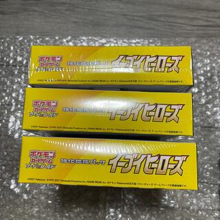 ポケモン - 3BOX ポケモンカードゲーム 強化拡張パック イーブイヒーローズ BOX
