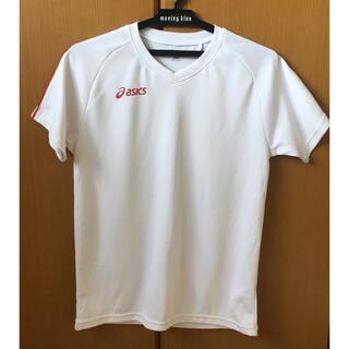 アシックス(asics)のasics アシックス Tシャツ 160 赤ライン入り(バレーボール)