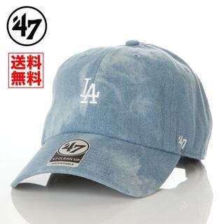 ニューエラー(NEW ERA)の【新品】47 キャップ LA ドジャース 帽子 デニム レディース メンズ(キャップ)