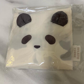 gelato pique - ジェラートピケ パンダ柄エコバッグ小 コンビニサイズ