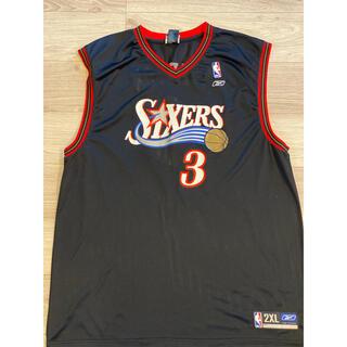 NBAアイバーソン リーボックゲームシャツ