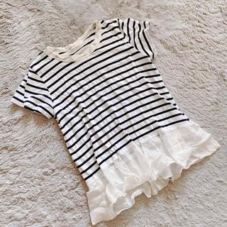 sacai luck - sacai luck サカイラック 裾フリル Tシャツ