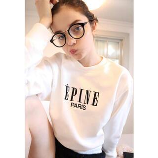 Lily Brown - エピヌ スウェット ÉPINE PARIS embroidery sweat
